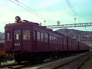 Hankyu - 610 Series car, built 1953-56