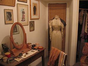 Hanna Rovina - Rovina's dressing room at Habima Theatre