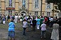Hannover Neustädter Kirchhof Schweigeminute 1. August 2014 f.jpg