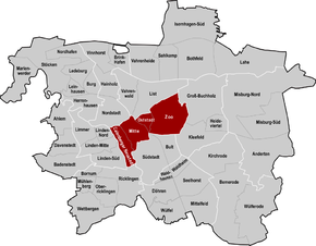 Mitte (Stadtbezirk in Hannover) – Wikipedia