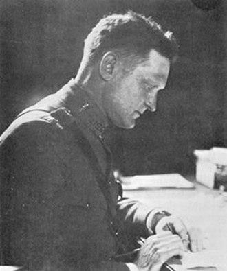 Hans Zinsser - Zinsser as a US Army Medical Corps officer in World War I