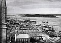 Harbour from Notre-Dame Church, looking east, Montreal, QC, 1863.jpg
