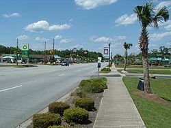 U.S. Highway 17 in Hardeeville