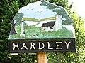 Hardley village sign (close-up) - geograph.org.uk - 1425186.jpg