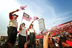 Malaysia Day - 2011 Malaysia Day celebration at Merdeka Square, Kuala Lumpur