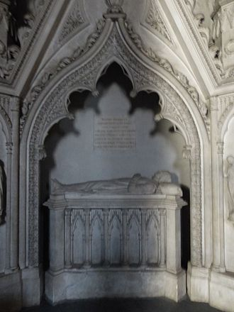 Beatrice of Savoy - Grave of Beatrice of Savoy in Hautecombe Abbey