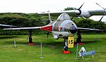 Hawker Hunter, Midland Air Museum, Coventry and Warks. Show 2016. (30372297140).jpg