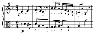 Symphony No. 70 (Haydn) - Image: Haydn Sym 70m 2Xamp 1