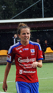 Hayley Lauder Scottish footballer