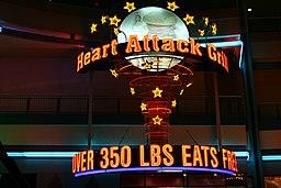 Heart Attack Grill, Las Vegas - Logo