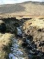 Heavy erosion on the Moine nan Each - geograph.org.uk - 132600.jpg