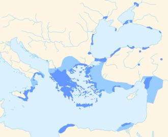 Koine Greek - Image: Hellenistic Greek