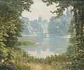 Henri Biva, A Summer's day on the lake, oil on canvas, 46.3 x 55.3 cm.jpg