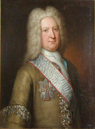 Regions of Denmark - Henrik Frederik von Söhlenthal, a Danish county prefect in the 18th century