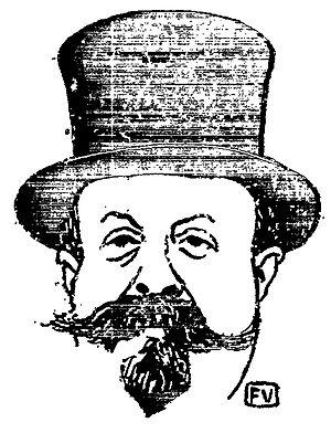 Henry Gauthier-Villars - Henry Gauthier-Villars (woodcut by Félix Vallotton)