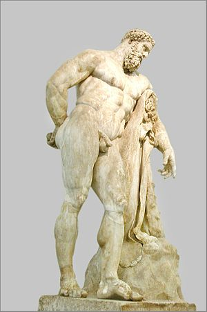 G.S. Iraklis Thessaloniki - Farnese Hercules, emblem of the club
