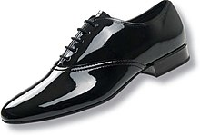 Patent Leather Oxford
