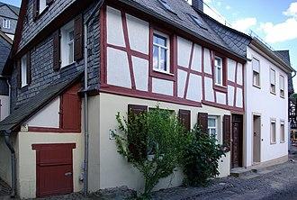 Herrstein - Timber-frame house