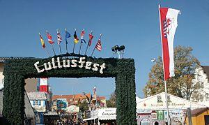 Lullus - Hersfelder lullusfest entrance