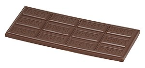 Candy bar - A Hershey milk chocolate bar