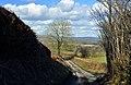 High banked lane - Coedarhydyglyn - geograph.org.uk - 1733483.jpg