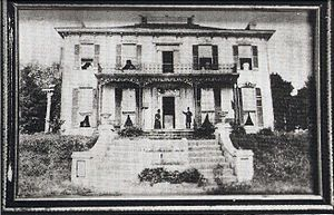Thomas C. Hindman - Photograph of the Hindman family home in Helena, Arkansas