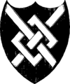 Historical anecdotes of heraldry and chivalry, tending to shew the origin of many English and foreign coats of arms, circumstances and customs Fleuron N017665-5.png