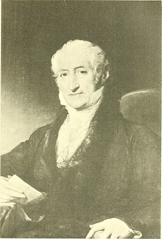 Ward Nicholas Boylston - Ward Nicholas Boylston portrait by Gilbert Stuart (c. 1825)
