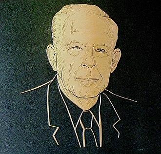 History of the University of North Georgia - A commemorative plaque of Merritt E. Hoag