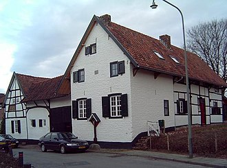 Municipalities of Limburg (Netherlands) - Timber framed houses in Spaubeek