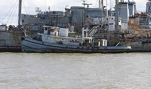 Hoga (YT-146) - Hoga, laid up with the Suisun Bay Reserve Fleet in March 2006