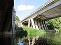 Holding the A1 up out of the River - Wansford - August 2013 - panoramio.jpg