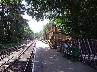 Holt, Norfolk - Holt railway station