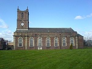 Holy Trinity Church, Sunderland - Image: Holy Trinity Sunderland southern(side)elevat ion