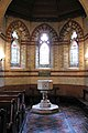 Holy Trinity, Bentley Heath, Herts - Baptistery - geograph.org.uk - 348789.jpg