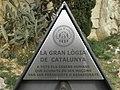 Homenatge als maçons perseguits pels franquisme 2 (Barcelona, Catalonia) - panoramio.jpg