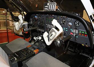 Honda MH02 - MH02's cockpit