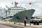Hongzehu (AOR 881) docks at Pearl Harbor 060906-N-4856G-051 0TWVK.jpg