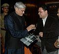 Honourable Governor of West Bengal Shri Gopalkrishna Gandhi at Anirban Mitra's Book Release at Raj Bhavan.JPG