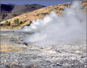 Renewable heat - Hot Springs located in Nevada.