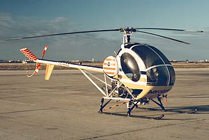 Hughes Helicopters -  A Hughes 300 out of Faro Airport