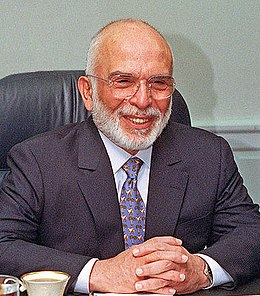 Hussein of Jordan in 1997 (cropped).jpg