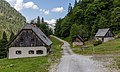 Huts (Hartelsgraben Jagdhütte), Gesäuse National Park, Ennstaler Alpen, Austria 02.jpg