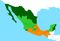 IDH Estados de Mexico 2006.PNG