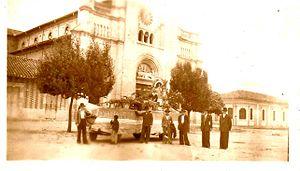 Cajicá - Image: IGLESIA CAJICA AÑOS 50