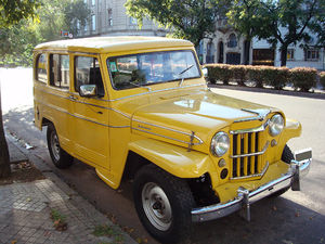 "Willys Jeep Station Wagon - Willys Jeep ""Estanciera"" made by IKA in Argentina."