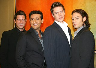 Il Divo multinational classical crossover vocal group