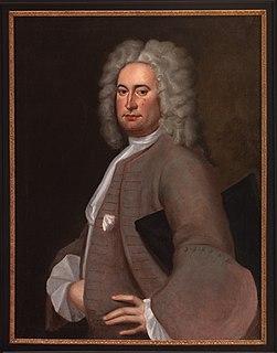 Isham Randolph of Dungeness American planter, grandfather of Thomas Jefferson
