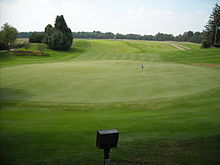 Indianwood S Huge 18th Green