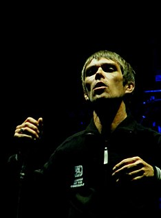 English musician and singer of The Stone Roses